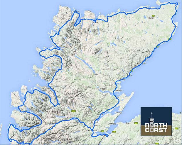 NC 500 route